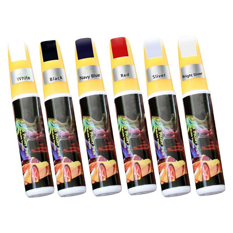 Car Paint Repair Pen Scratch Repair Pen Paint Repair Red Black White Silver Gray Paint Touch Pen