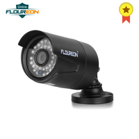 FLOUREON 1 X 8CH 1080N AHD DVR + 4 X Outdoor 2000TVL 960P 1.3 MP IP66 Camera + 1TB HDD Support P2P Technology Security Kit EU