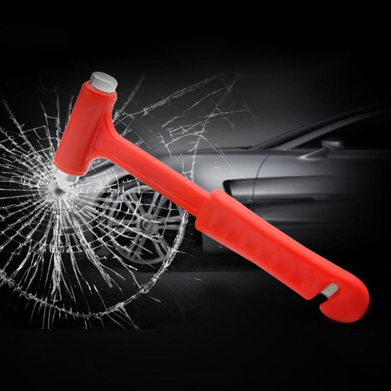 VODOOL 2 In 1 Mini Car Safety Hammer Auto Car Window Glass Breaker Life Saving Emergency Hammer Seat Belt Cutter Escape Tool