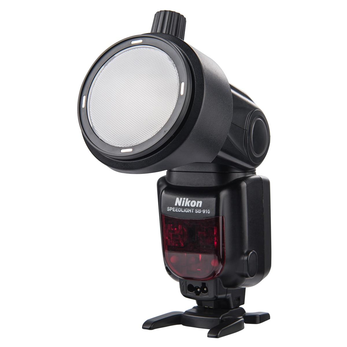 Godox AK-R1 Accessory Kit S-R1 Round Ring Adapter for AD200 V860II V850II TT685 TT600 flash compatible for Canon Nikon Sony Yongnuo Speedlight