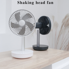 Zaiwan New Cooling Fan 3-Speed Adjustable Portable Mini Hand Fans 4000mAh Rechargeable Micro USB Desk Air Cooling Fan 2-15H