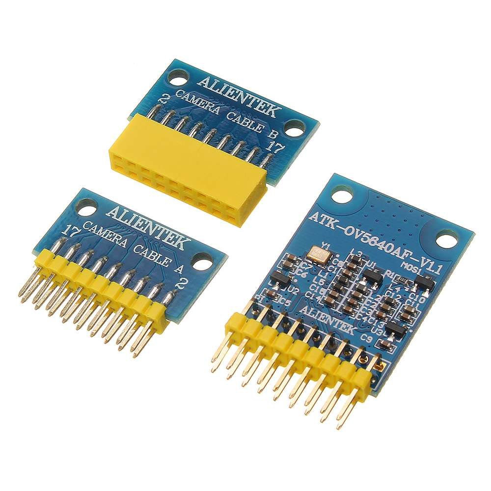 500W Pixel OV5640 Camera Module FPC Arrangement And Transfer Board Autofocus