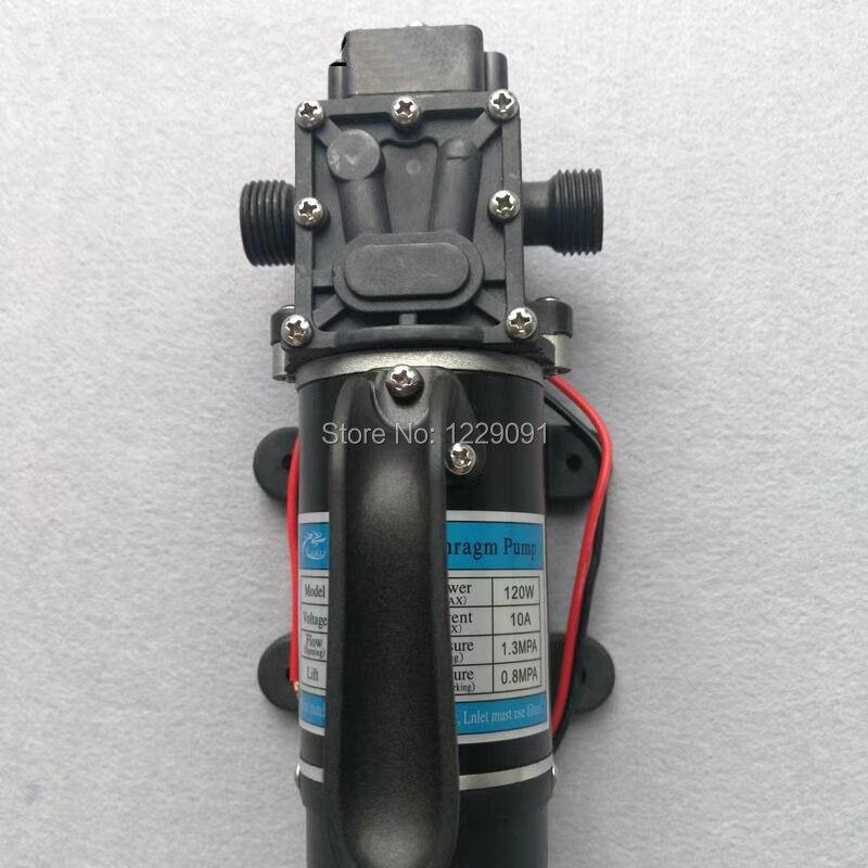 10L/min 120W electric high pressure self priming small dc Water Pump Diaphragm pump 12v 24v10L/min 120W electric high pressure self priming small dc Water Pump Diaphragm pump 12v 24v