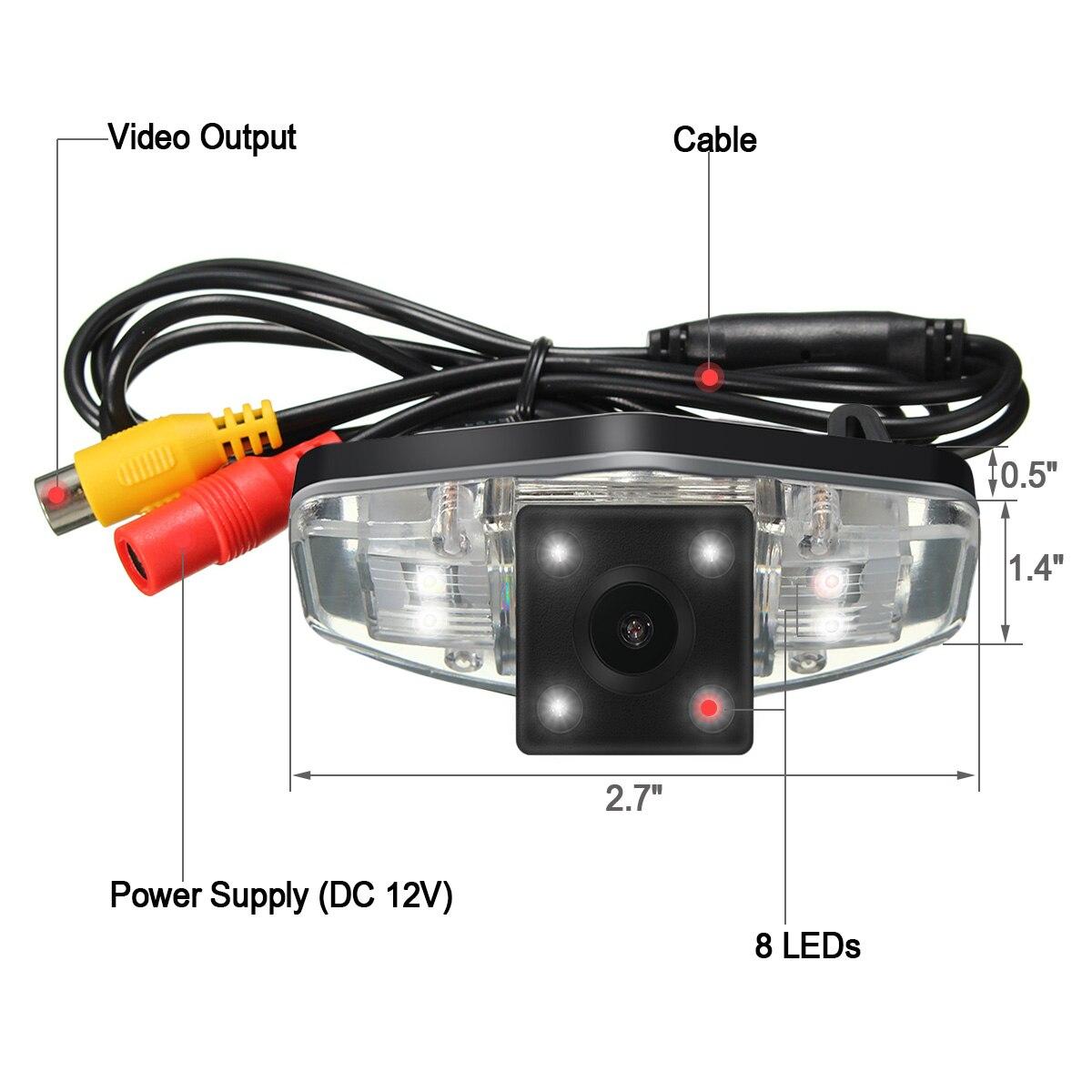 170 Degree Black CCD Car Reverse Back up Rear View font b Camera b font For