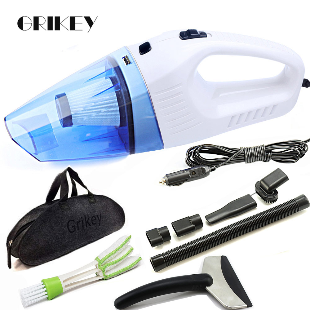Grikey Vacuum Cleaner For Auto Multi Dry/Wet 120W Car Vacuum Cleaner Aspirator Filter 3 Month Exchange