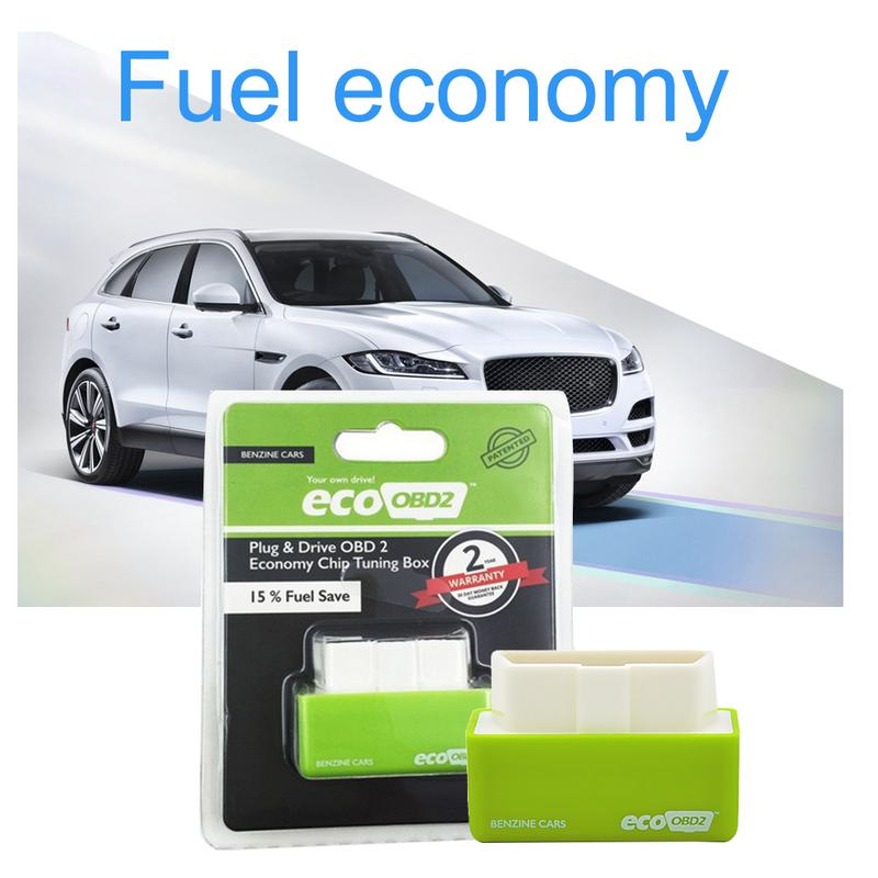 Plug And Drive OBD2 Economy Fuel Box Chip Upgrade Fuel Saver For Vehicles Fuel Gasoline Diesel Version