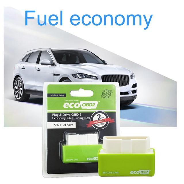 Plug And Drive OBD2 Scatola di Risparmio di Carburante di Aggiornamento Chip di Risparmio Carburante per I Veicoli a Benzina Carburante Diesel Versione