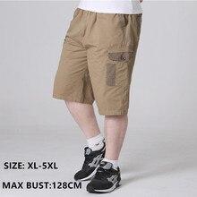 Cargo Shorts Men Modis Summer Cotton Camo Short Pants Man Army Green Black Grey Plus Size 4XL 5XL Casual Mens Hombre Trousers