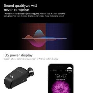 Image 5 - Original Fineblue L18 Mini Wireless Headset mit tragbare Tasche anzug Sport Fahrer business Bluetooth In Ohr Kopfhörer mit Mic