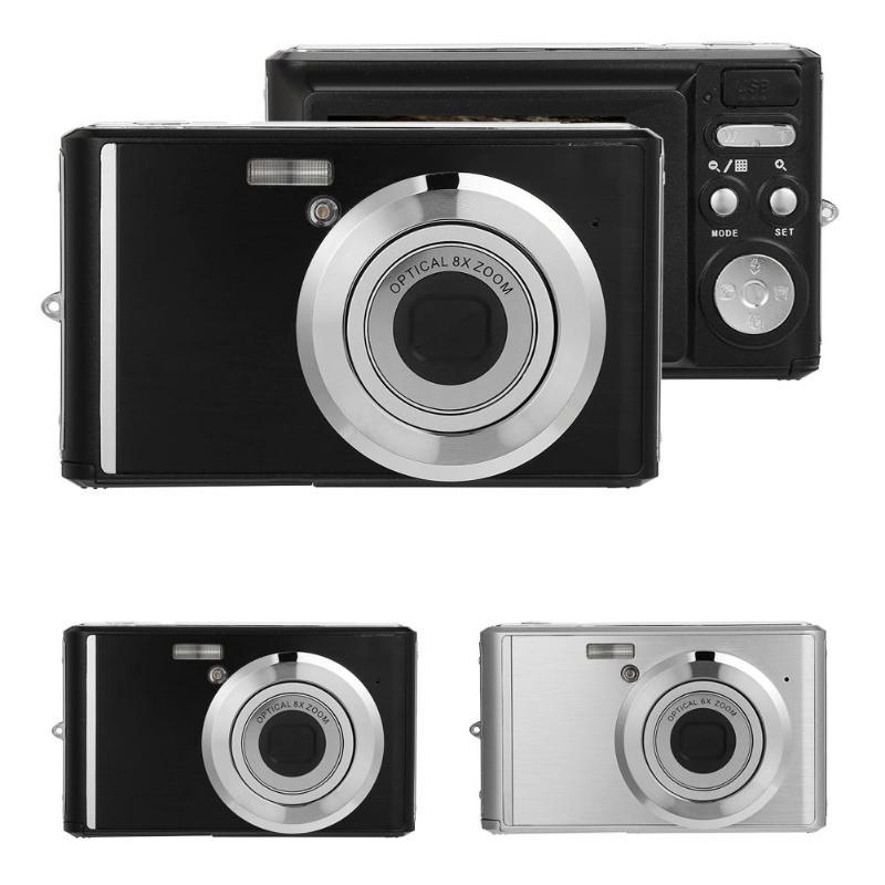 2.4 Inch Digital Camera 8X Optical Zoom Telescopic Lens 20MP w/Macro Lens
