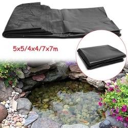 7x7 m/5x5 m/4x4 m HDPE poisson étang Liner jardin étang aménagement paysager piscine renforcé épais résistant Membrane doublure tissu