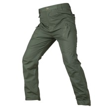Hunting Pants IX9 S-5XL Ripstop Cotton Blends Cargo City Combat SWAT Army Military Multi-pockets Stretch Flexible Man Trousers enyce men s yosemite ripstop belted cargo short