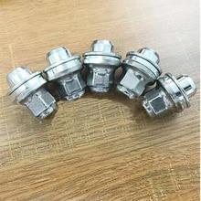 5PCS Wheel Lug Nuts For JAGUAR X-Type S-pyte XF XJ XJR 99-11 C2C35294010