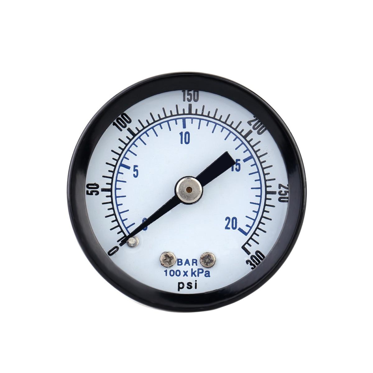 20Bar 0 300PSI манометр Мини Пневматический воздушный компрессор гидравлический