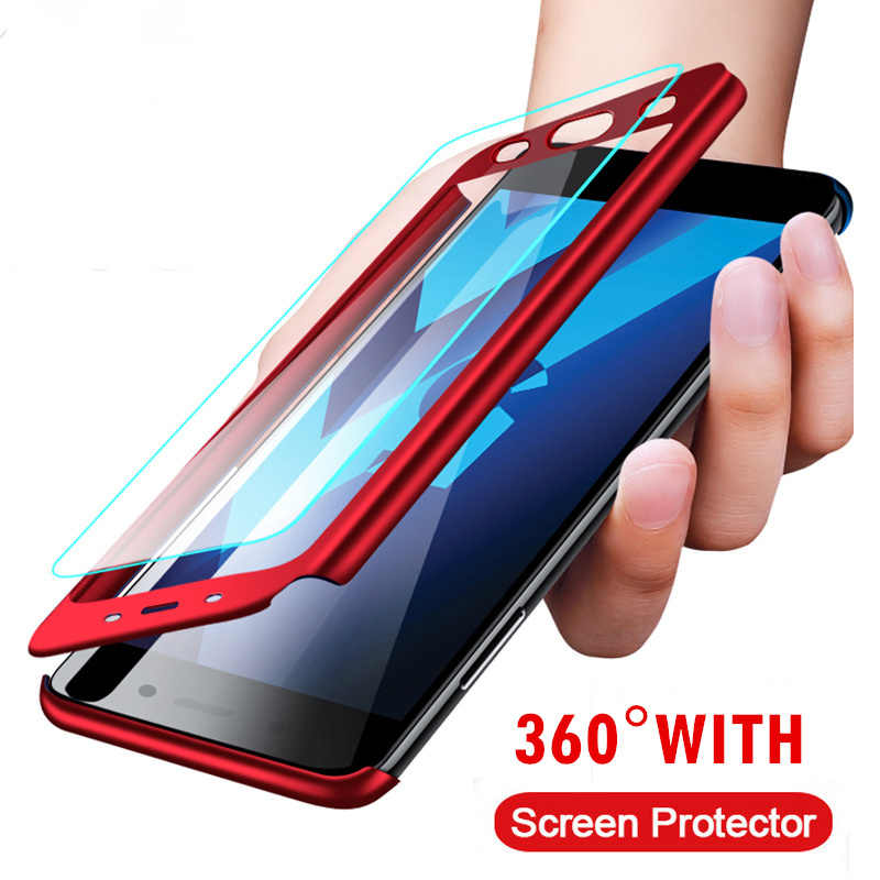 Front Back 360 Full Coverage Cover Shockproof For Samsung Galaxy A7 A9 A6 A8 2018 J4 J6 Plus A3 A5 A7 J3 J5 J7 2017 Phone Case