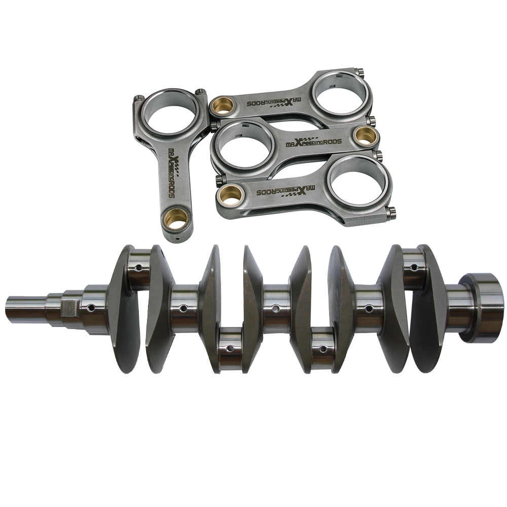 Crankshafts Crank + Rods Kit for Toyota Corolla AE86 4AG 4AGE 1 6 L 77mm  83-97 Crankshaft & Connecting Rods Kit