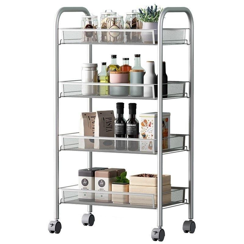 Mensole Organization Cosas De Cocina Sponge Holder Rangement Cuisine Organizer With Wheels Estantes Kitchen Storage Rack