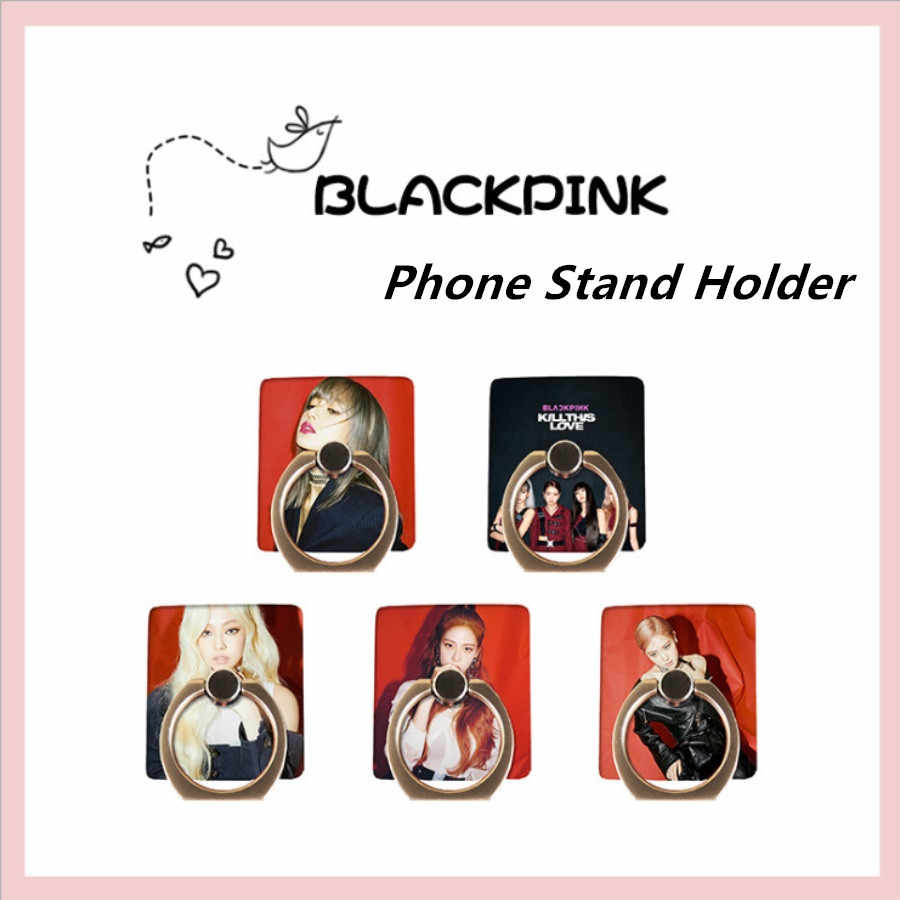 Blackpink Kill This Love Round Brooch Badge New Album Jinnie Ros