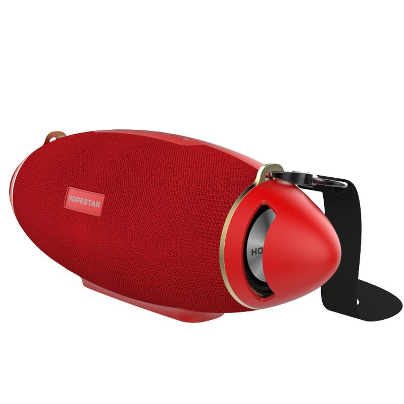HOPESTAR H20 Outdoor bluetooth Speaker USB Waterproof Subwoofer 6000mah Large Battery 31W Soundbar With Microphone Handfree