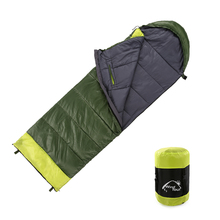 Outdoor Camping Travel Sleeping Bag Winter Warm Split Joint Hands Arm Free Sleeping Bag Thickened Cotton Sleeping Bed Lazy Bag цена