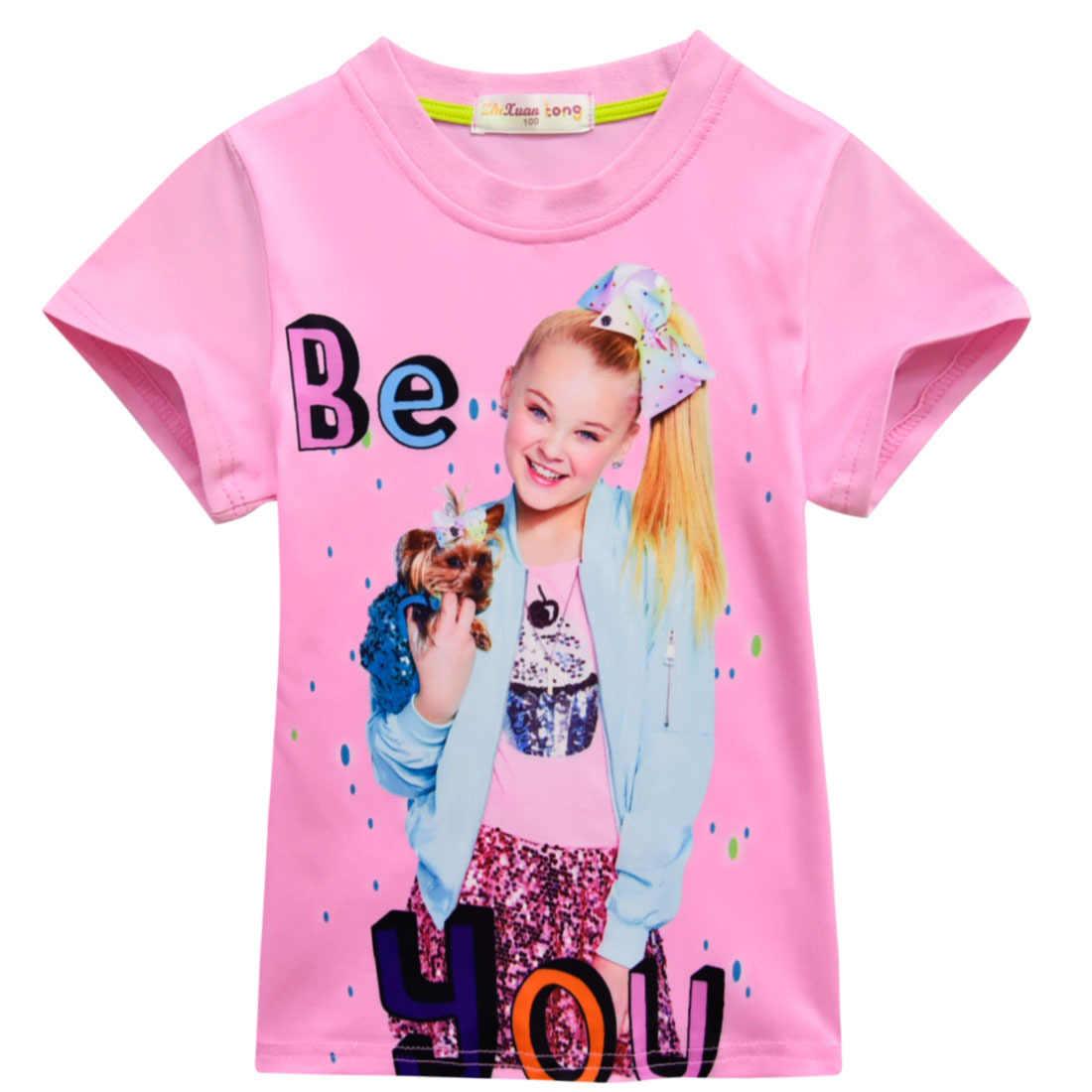 2f1ec628d 2018 Hot Sale Lady Bug Moana Trolls Cartoon Short Sleeve Girl T-shirt Moana  Ladybug