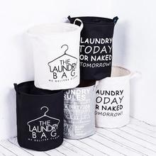 Водонепроницаемая Складная тканевая корзина для белья с ручками, корзина для хранения, органайзер для дома и ванной комнаты, корзина для грязного белья