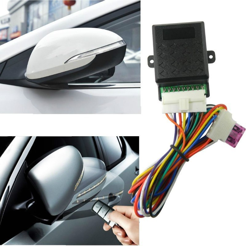 Auto Fold/Unfold Side Rear View Mirror Folding Closer System Modules For All Car-in Mirror & Covers from Automobiles & Motorcycles