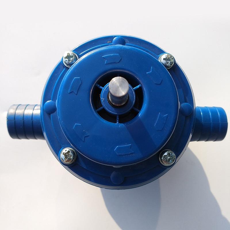 Сверхмощный самовсасывающий ручной электрический насос для бурения воды для автомобиля, грузовика, дизельного топлива, дизельного топлива...