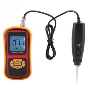 Image 4 - GM63B דיגיטלי רטט מד נייד מיני LCD תצוגה דיגיטלי רטט מד עם בדיקה 0 40