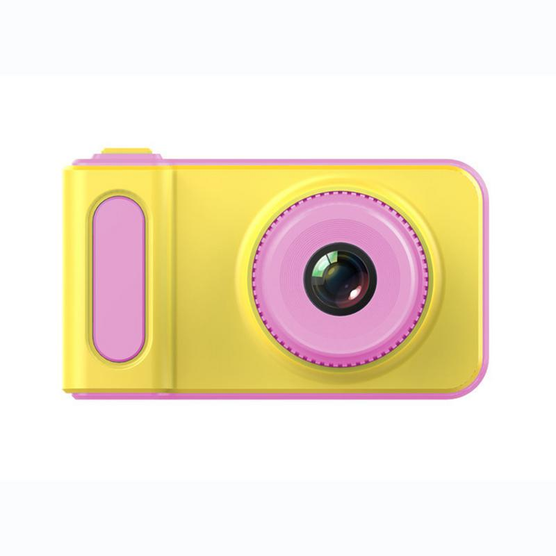 Children's Mini Digital Camera 2 Inch Cartoon Cute Camera Toys Children Birthday Gift 1280p Toddler Toys Camera