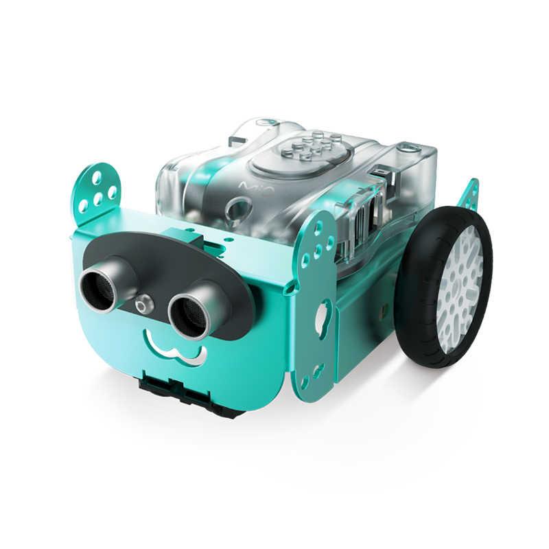 Robo3 Mio паровой робот bluetooth дистанционное управление Mbot приложение царапинам программирование для Arduino доска
