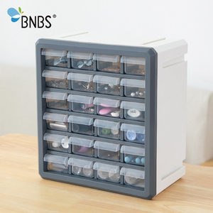 Image 5 - BNBS органайзер для косметики, ящик для хранения игрушек, инструменты, пластиковая коробка с 24 ящиками, косметический Органайзер