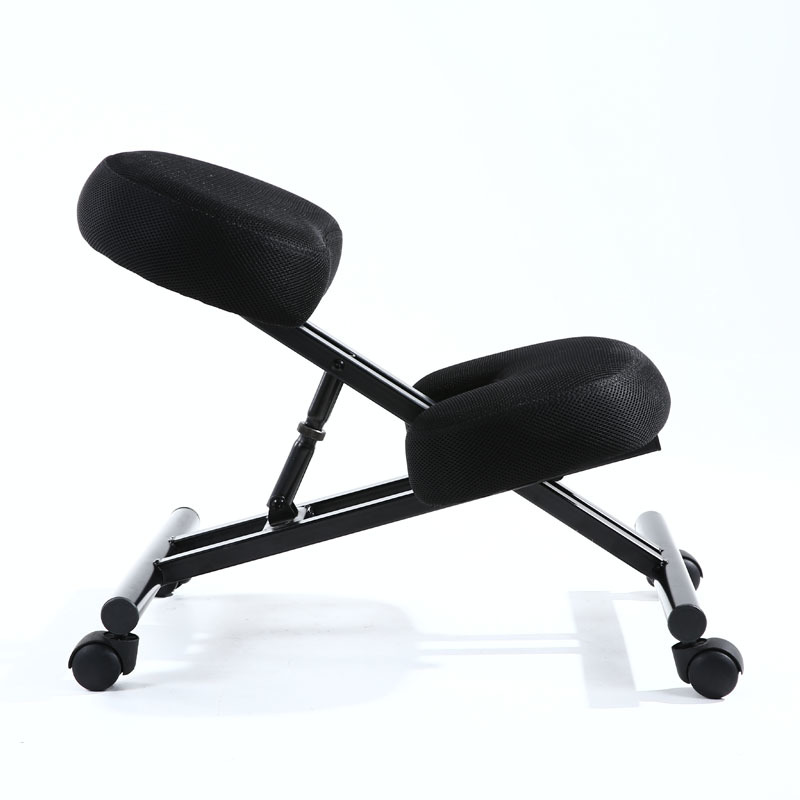 Купить с кэшбэком Ergonomically Designed Kneeling Chair Fabric Cushion Seat Modern Office Furniture Computer Chair Ergonomic Posture Knee Chair