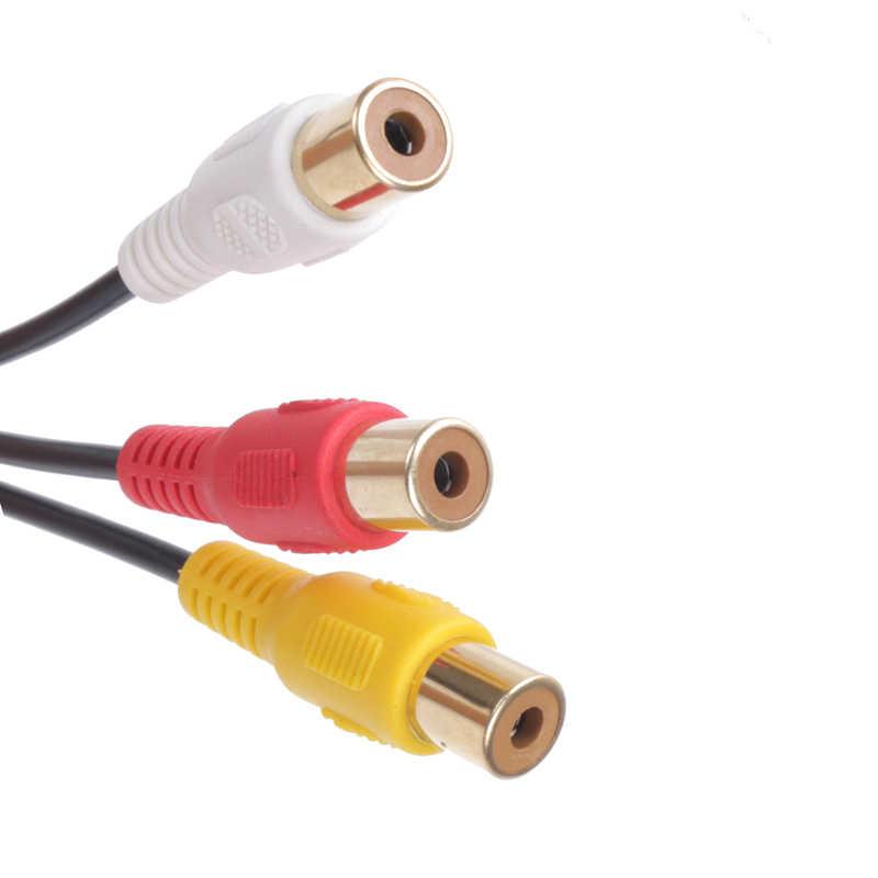 Biurlink samochodowy odtwarzacz dvd ekran kamera tylny Parking wideo kabel cofania 3RCA av adapter dla Toyota COROLLA CAMRY korona RAV4 28Pin wtyczka