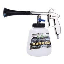 Novo 2 em 1 preto/rolamento preto tornado r arma de limpeza alta pressão lavadora carro tornado r espuma arma tornado aspirador pó