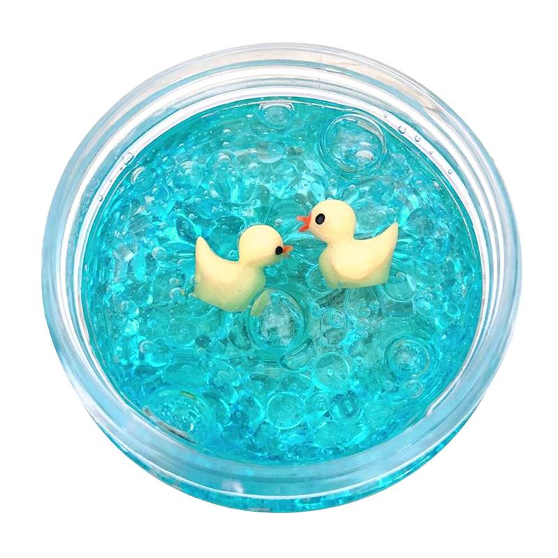 60ML DIY Slime Ball Slime Mud Duck Crystal Mud Decompression Toy