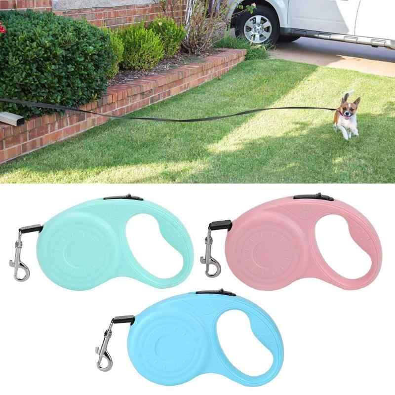 3 M/5 M Intrekbare Hondenriem Automatische Flexibele Hond Puppy Kat Trekkabel Riem Hondenriem voor Kleine middelgrote Honden Huisdier Producten