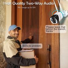 Уличная видеокамера с Wi-Fi двойной wifi антенной двухстороннее аудио 1080 P Беспроводная ip-камера с четким ночным видением Обнаружение движения