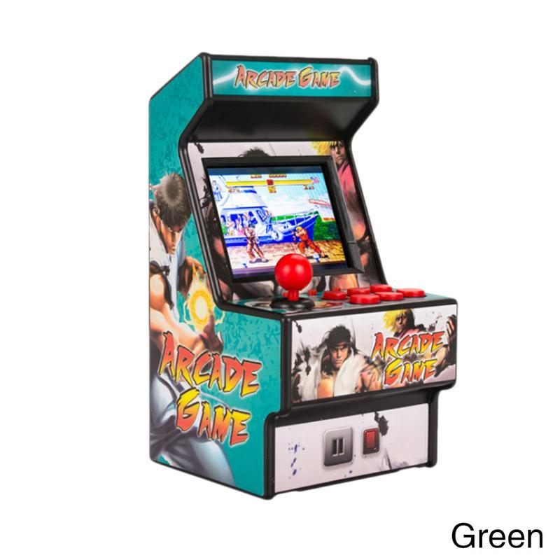 Mini arcade console handheld do jogo clássico retro game console 16-bit console nova rua overlord memória de infância família arcada