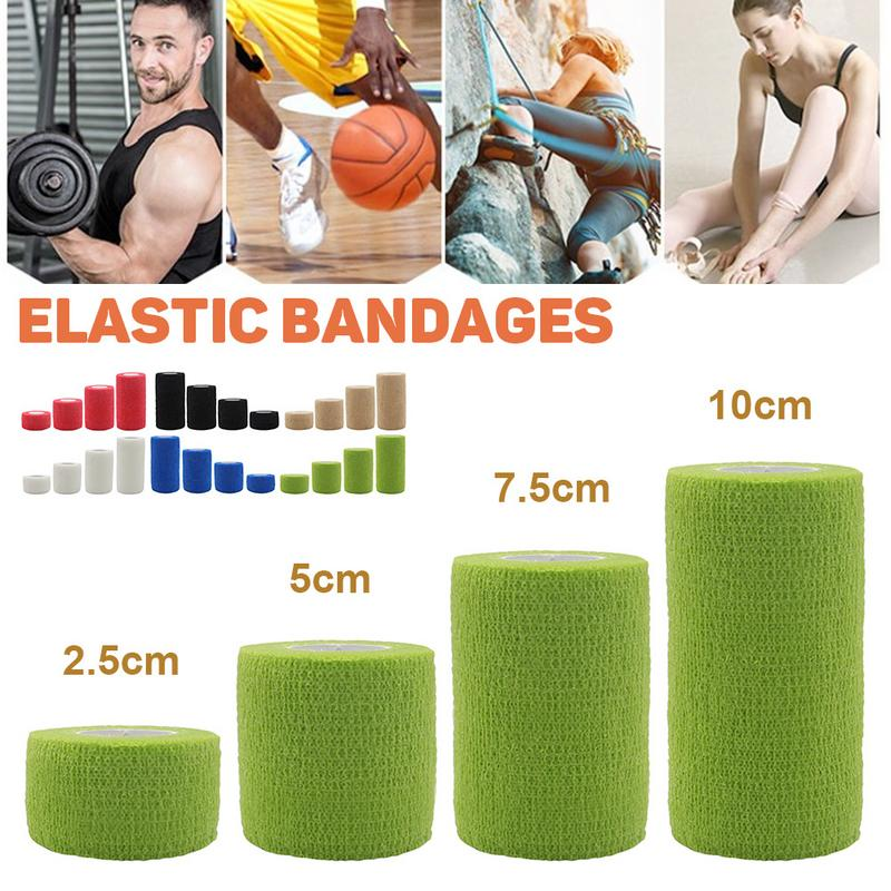 4.5M Sports Protection Elastic Bandage Tape Waterproof Self Adhesive Bandage Muscle Tape Finger Joints Wrap Cohesive Elastoplast