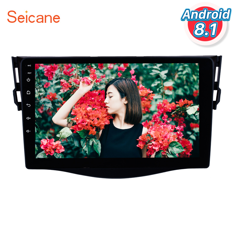 Seicane for 2007 2013 Toyota RAV4 Android 8 1 Radio 9 inch HD Touchscreen GPS Navigation
