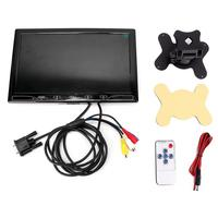 dvd car 10.1 inch IPS VGA Display Monitor Device 1024*600 for Home Car Video Surveillance Monitoring accesorios automovil