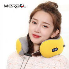Relaxation Massage U-shaped Pillow Vibrator Electric Shoulder Back Heating Kneading Infrared Therapy For Shiatsu Neck