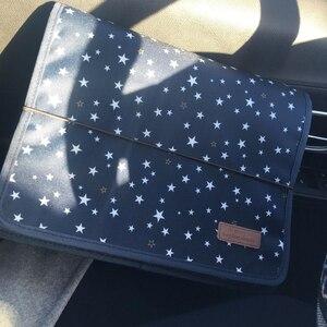 Image 5 - لطيف المحمولة توسيع الأكورديون 12 جيوب A4 مجلد ملفات أكسفورد توسيع وثيقة حقيبة