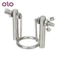OLO Urethral Dilators Penis Plug Catheters Sounds Adjustable Penis Stimulator Masturbator Stainless Steel Sex Toys for MenX