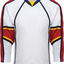 Wholesale OEM Custom Ice Hockey Jersey Replica Home Away Vintage  Black white Men Women Kids 66653ad04