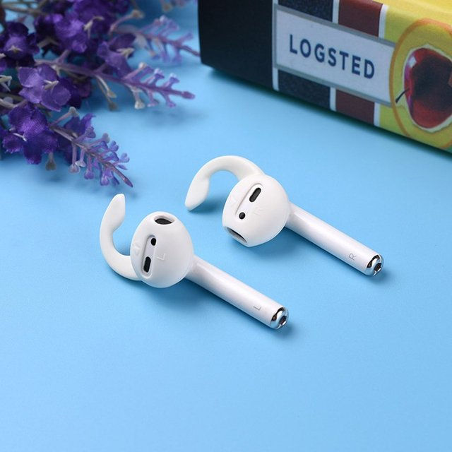 Non-slip Silicone Case Cover Anti-lost Eartips Strap for Bluetooth Wireless Airpods Wireless Headphone Set Accessories