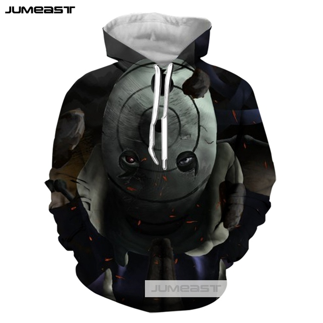 Sasuke Susanoo 3D Print Hooded Sweatshirt Long Sleeve