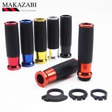 "1 пара мотоциклов 22 мм 7/"" руль ручки ручной бар для SUZUKI gn 250 bandit 600 sv 1000 для HONDA nc 700 s dct nc 750 s и т. д"