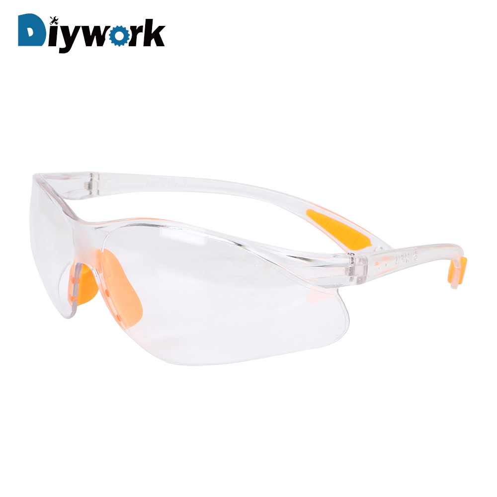 DIYWORK Anti-dust Sand Prevention Labor Insurance Glasses Outdoor Safety Eye Protective Goggles Unisex Soft Silicone Nose Clip